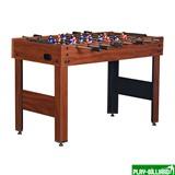 Настольный футбол (кикер) «Standart» (122x61x78.7 см, коричневый), интернет-магазин товаров для бильярда Play-billiard.ru