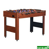 Настольный футбол (кикер) «Standart» (122x61x78.7 см, коричневый), интернет-магазин товаров для бильярда Play-billiard.ru. Фото 1