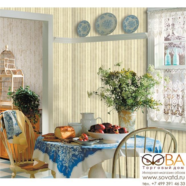Обои Seabrook CY11707 Garden Diary купить по лучшей цене в интернет магазине стильных обоев Сова ТД. Доставка по Москве, МО и всей России