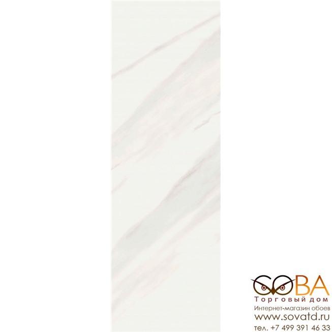 Плитка Creto  Calacatta Ice W M 25х75 NR Glossy 1 купить по лучшей цене в интернет магазине стильных обоев Сова ТД. Доставка по Москве, МО и всей России