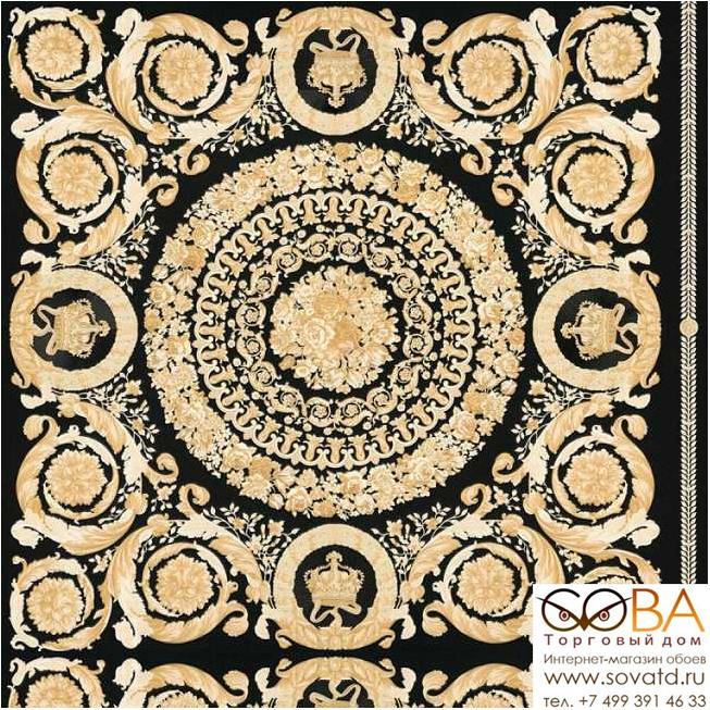 Обои A.S. Creation Versace 4 37055-3 купить по лучшей цене в интернет магазине стильных обоев Сова ТД. Доставка по Москве, МО и всей России