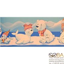 Бордюр Rasch01604 купить по лучшей цене в интернет магазине стильных обоев Сова ТД. Доставка по Москве, МО и всей России
