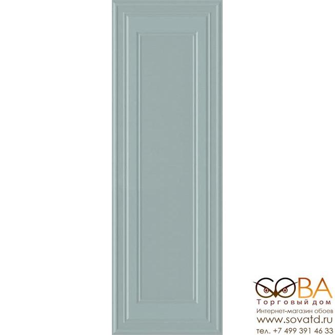 Плитка Kerama Marazzi  Монфорте ментоловый панель обрезной 40х120 купить по лучшей цене в интернет магазине стильных обоев Сова ТД. Доставка по Москве, МО и всей России