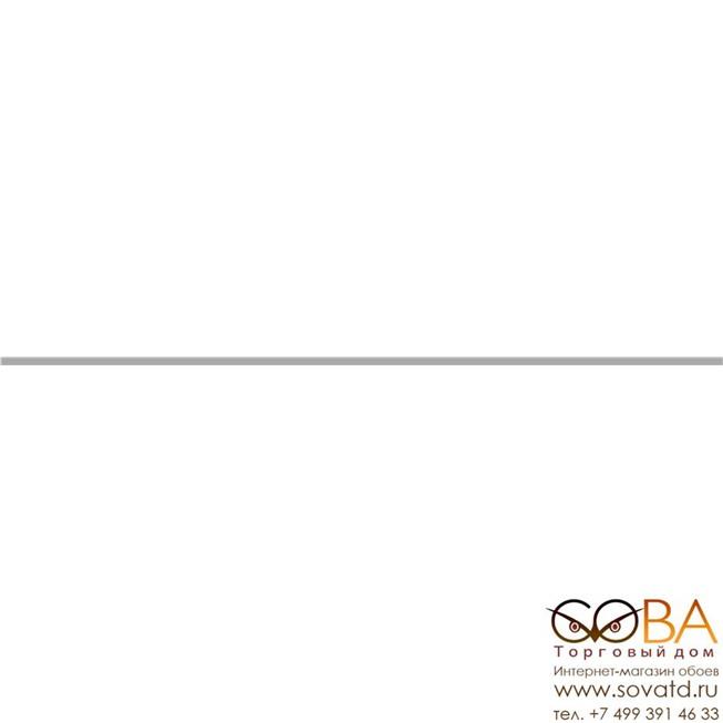 Бордюр  метал. серебро матовое 0,8х60 купить по лучшей цене в интернет магазине стильных обоев Сова ТД. Доставка по Москве, МО и всей России