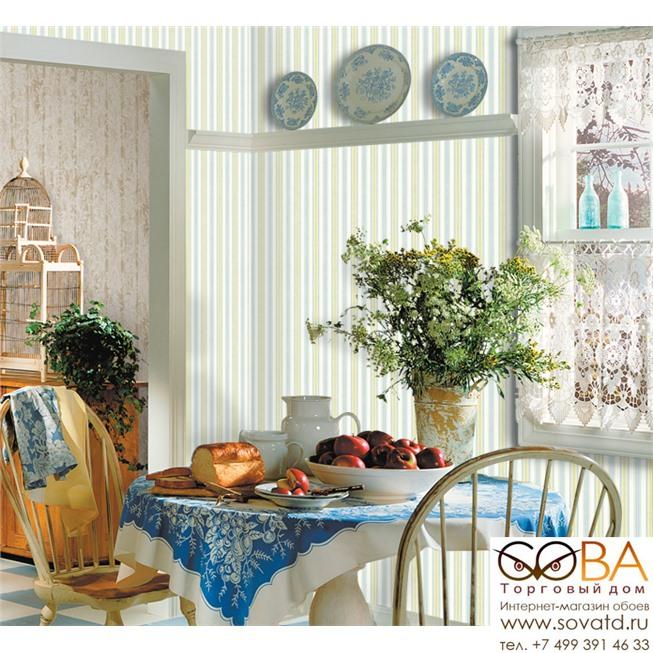 Обои Seabrook CY10102 Garden Diary купить по лучшей цене в интернет магазине стильных обоев Сова ТД. Доставка по Москве, МО и всей России
