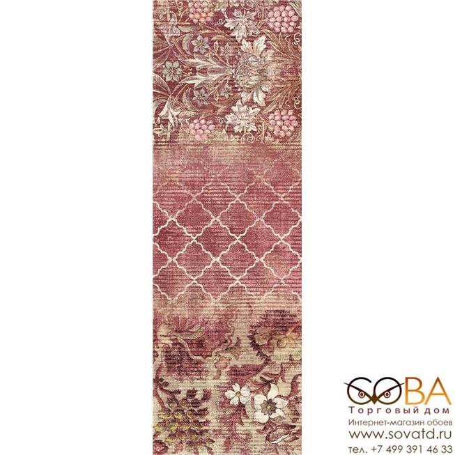Декор Marazzi  Outfit Ivory Jacquard 25x76 купить по лучшей цене в интернет магазине стильных обоев Сова ТД. Доставка по Москве, МО и всей России