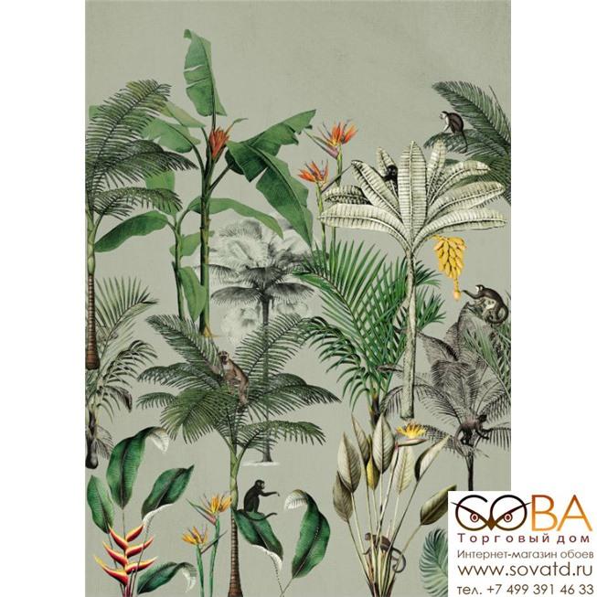 Панно Rasch Club Botanique 539196 купить по лучшей цене в интернет магазине стильных обоев Сова ТД. Доставка по Москве, МО и всей России