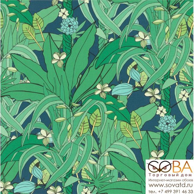 Обои Rasch Club Botanique 538922 купить по лучшей цене в интернет магазине стильных обоев Сова ТД. Доставка по Москве, МО и всей России