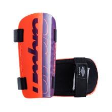 Щитки футбольные Veloce Slip Junior 20663U, фиолетовый/красный