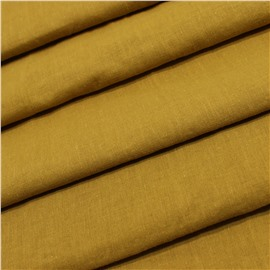 Конопляная ткань горчичного цвета №50