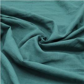 Конопляная ткань цвета морской волны №71