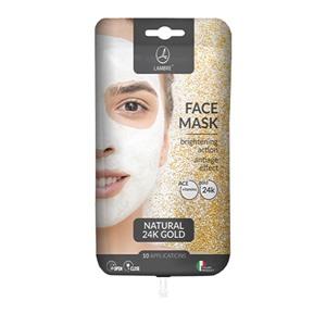 Маска с натуральным 24-Каратным Золотом Face Mask Gold