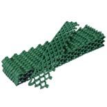 Модульное покрытие Vortex 10 мм площадь 0,19 м2 (10 модулей 38х6 см) зелёный 24060