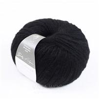 Пряжа Baby Alpaca, цвет 099 Черный, 110м/50г, Casagrande