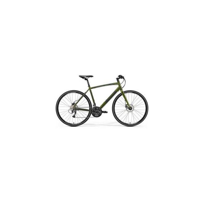 Велосипед Merida Crossway Urban 40D Fed Green/Dark Green (2017), интернет-магазин Sportcoast.ru
