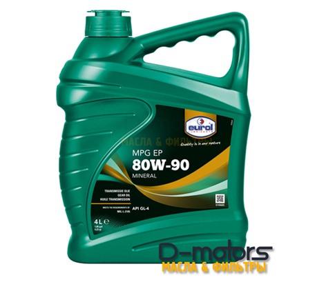 Трансмиссионное масло Eurol MPG SAE 80W-90 GL4 (4л.)