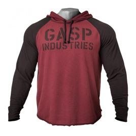Кофта с капюшоном GASP Long Sleeve Thermal Hoodi, Maroon
