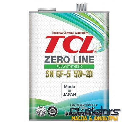 Моторное масло TCL Zero Line 5W-20 SN/GF-5 (4л.)