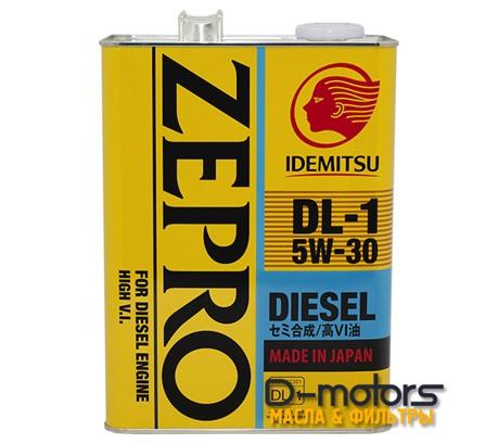 Моторное масло Idemitsu Zepro Diesel DL-1 5W-30 (4л.)