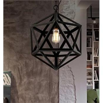Подвесной светильник кованый 2
