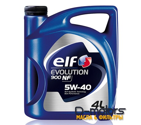 Моторное масло ELF Evolution 900 NF 5W-40 (4л.)