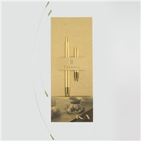 Набор разъёмных спиц 5 и 10 см №3.5 мм, Dualis, Shirotake, KA Seeknit, ID 58162