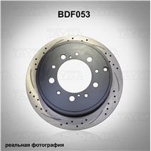BDF053. Задняя ось. Перфорация + слоты