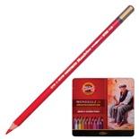 Карандаши акварельные художественные KOH-I-NOOR Mondeluz 24 цвета в коробке 3724024001PL