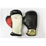 Перчатки боксерские JOEREX PVC, 8 OZ , черные, JBX308