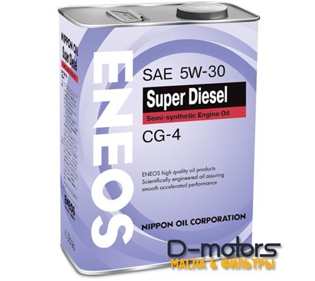 Моторное мало Eneos Super Diesel Semi-Synthetiс 5w-30 (4л.)