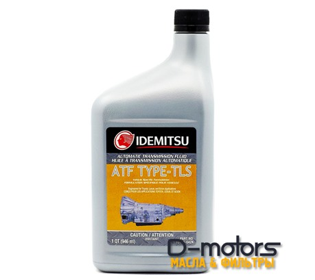 Трансмиссионное масло Idemitsu Atf Type-Tls (0,946л.)