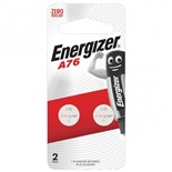 Батарейки алкалиновые Energizer LR44 (A76) 2 шт 639317