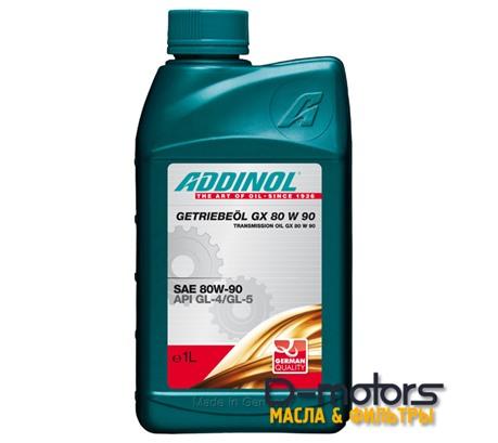 ADDINOL GX 80W-90 GL-4/GL-5 (1л)