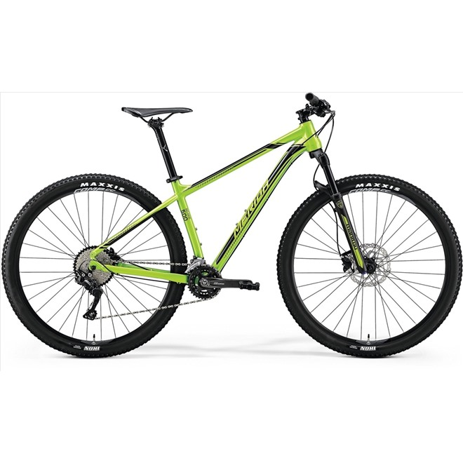 Велосипед Merida Big Nine 500 Green (Black) 2018, интернет-магазин Sportcoast.ru