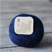 Пряжа Brushed lace Глубина 3018, 210м/25г, Mohair by canard, Dyb bla