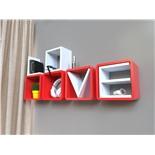 Комплект открытых полок на стену Qwerty Love 72016