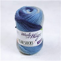 Пряжа YEAR SOCKS, 06 Июнь, 400м в 100г, Woolly Hugs
