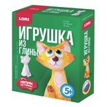 Набор для изготовления игрушки из глины Lori Кот Гл-004