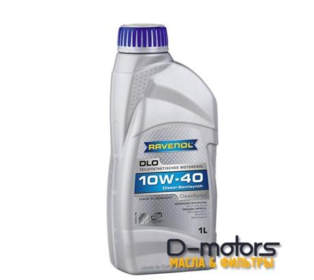Моторное масло Ravenol DLO 10W-40 (1л.)