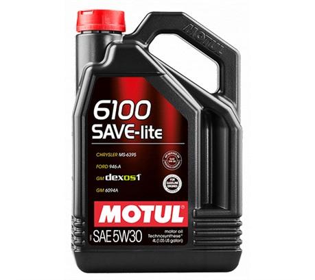 MOTUL 6100 SAVE-LITE 5W-30 (4л.)