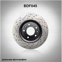 BDF045. Передняя ось. Перфорация + слоты
