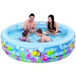 Бассейн надувной детский Jilong Aquarium (17027) 185х50 см