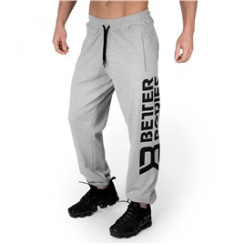 Спортивные брюки Better Bodies Stanton Sweatpants, светло-серый меланж
