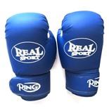 Перчатки для кикбоксинга Realsport 10 унций RS210