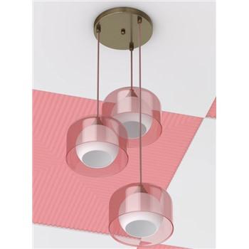 Подвесной светильник Идея 028 розовый