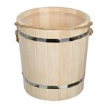 Ведро для бани Банные Штучки Таежное с пластиковой вставкой липа 9 л 31045