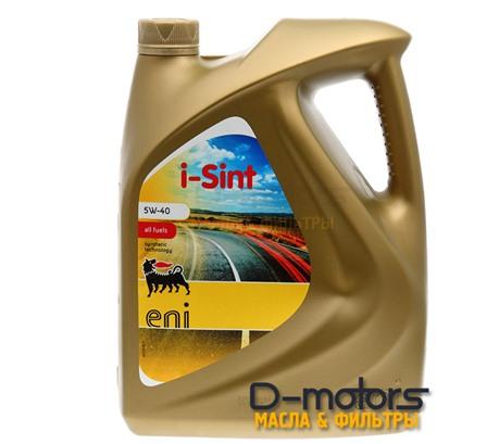 Моторное масло Eni I-Sint 5W-40 (5л.)