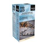 Светодиодная гирлянда (теплый свет) Luca lights 83770 для улицы и дома 1400 см