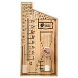 Термометр для бани и сауны Банные штучки с песочными часами 18036