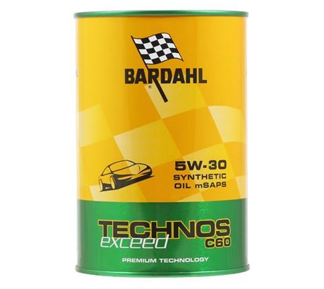 Bardahl TECHNOS C60 EXCEED 5W-30 (1 л.)